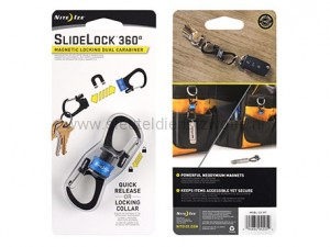 Nite Ize Carabiner Slidelock 360 Magnetic Blue
