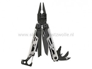 LE 7000-BS / Leatherman Signal Black & Silver w/Nylon sheath