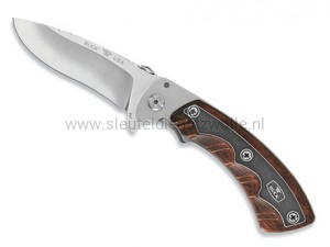 Buck Open Season Folding Skinner Rooswood