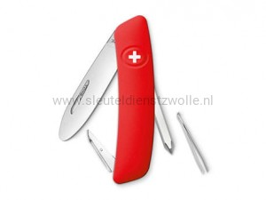 Swiza D02 Zwitsers Junior zakmes Red