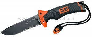 Gerber Bear Grylls Ultimate Knife, half gekarteld